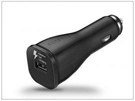 Samsung gyári USB szivargyújtós töltő adapter - 5V/2A - EP-LN915U black - Adaptive Fast Charging (ECO csomagolás)