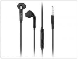 Samsung gyári sztereó J.B. szett - EO-EG920BB black - 3,5 mm jack (ECO csomagolás)