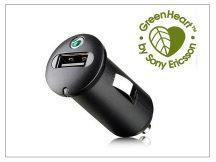 Sony Ericsson gyári USB szivargyújtós töltő adapter - 5V/1,2A - AN400 (csomagolás nélküli)