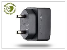 Sony Ericsson USB gyári hálózati töltő adapter - 5V/0,85A - EP800  GreenHeart (ECO csomagolás)