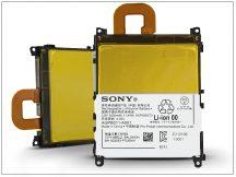 Sony Xperia Z1 (C6903) gyári akkumulátor - Li-Polymer 3000 mAh - LIS1525ERPC/AGPB011-A001 (csomagolás nélküli)