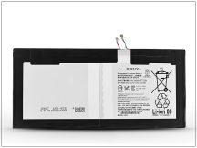 Sony Xperia Tablet Z4 gyári akkumulátor - Li-Polymer 6000 mAh - LIS2210ERPX (ECO csomagolás)