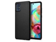 Samsung A515F Galaxy A51 ütésálló hátlap - Spigen Liquid Air - fekete