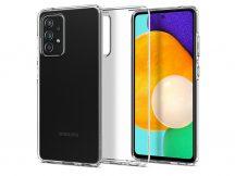 Samsung A525F Galaxy A52/A526B Galaxy A52 5G ütésálló hátlap - Spigen Liquid Crystal - átlátszó