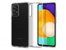 Samsung A725F Galaxy A72 4G/A726B Galaxy A72 5G ütésálló hátlap - Spigen Liquid Crystal - átlátszó