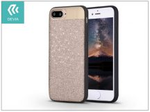 Apple iPhone 7 Plus/iPhone 8 Plus hátlap - Devia Racy - champagne gold