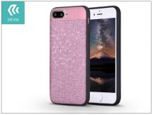 Apple iPhone 7 Plus/iPhone 8 Plus hátlap - Devia Racy - rose gold