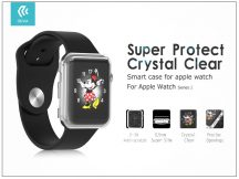 Apple Watch Series 2 védőtok - Devia Smart Case 38 mm - clear
