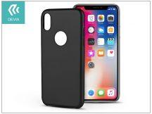 Apple iPhone X hátlap - Devia Ceo - black