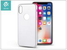 Apple iPhone X hátlap - Devia Ceo - white