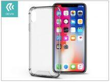 Apple iPhone X hátlap - Devia Shockproof - crystal clear