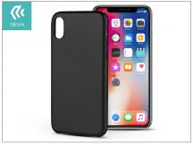 Apple iPhone X hátlap - Devia Ceo 2 - black