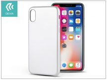Apple iPhone X hátlap - Devia Ceo 2 - white