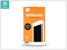 Apple iPhone 7/iPhone 8 üveg képernyő- + Crystal hátlapvédő fólia - Devia Eagle Eye Full Screen Tempered Glass 0.18 mm - 1 + 1 db/csomag - black