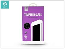 Apple iPhone 7/iPhone 8 üveg képernyő- + Crystal hátlapvédő fólia - Devia Eagle Eye Full Screen Tempered Glass 0.26 mm - Anti-glare - 1 + 1 db/csomag - black