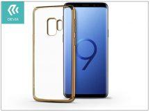 Samsung G960F Galaxy S9 hátlap - Devia Glitter Soft - champagne gold