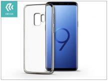 Samsung G960F Galaxy S9 hátlap - Devia Glitter Soft - silver