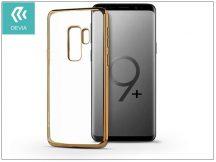 Samsung G965F Galaxy S9 Plus hátlap - Devia Glitter Soft - champagne gold