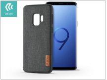 Samsung G960F Galaxy S9 hátlap - Devia Flax - black/grey