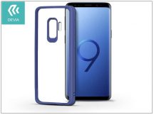 Samsung G960F Galaxy S9 hátlap - Devia Pure Style - blue