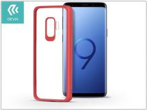 Samsung G960F Galaxy S9 hátlap - Devia Pure Style - red