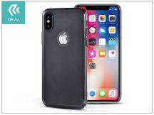 Apple iPhone X hátlap - Devia Mirror - black