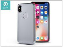 Apple iPhone X hátlap - Devia Mirror - silver