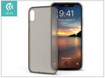 Apple iPhone X szilikon hátlap - Devia Naked - clear tea