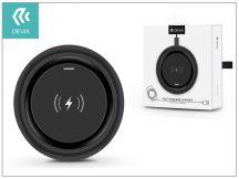 Devia Qi univerzális vezeték nélküli töltő állomás - 5V/1A - Devia Allen Wireless Charger - black - Qi szabványos