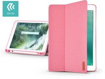 Apple iPad 9.7 (2018) védőtok (Smart Case) on/off funkcióval, Apple Pencil tartóval - Devia Ease - pink