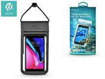 """Univerzális vízálló védőtok max. 5,8"""", méretű készülékekhez - Devia Strong Waterproof Bag - black"""