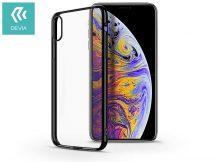 Apple iPhone X/XS hátlap - Devia Glimmer - black