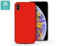 Apple iPhone X/XS hátlap - Devia Nature - piros