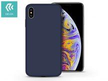 Apple iPhone X/XS hátlap - Devia Nature - kék