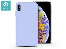 Apple iPhone X/XS hátlap - Devia Nature - világos kék