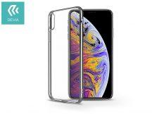 Apple iPhone XS Max hátlap - Devia Glitter - silver