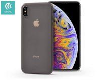 Apple iPhone X/XS hátlap - Devia Naked Ultra-Thin - tea