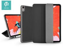 Apple iPad Pro 11 (2018) védőtok (Smart Case) Apple Pencil tartóval - Devia Leather Case V2 - black