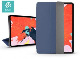 Apple iPad Pro 12.9 (2018) védőtok (Smart Case) on/off funkcióval - Devia Star Magnet - blue