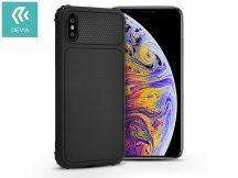 Apple iPhone X/XS szilikon hátlap - Devia Shark-1 - black
