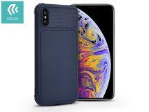 Apple iPhone X/XS szilikon hátlap - Devia Shark-1 - blue