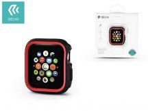 Apple Watch 4 védőtok - Devia Dazzle Series 44 mm - fekete/piros
