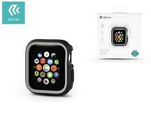 Apple Watch 4 védőtok - Devia Dazzle Series 44 mm - fekete/szürke