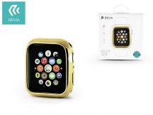 Apple Watch 4 védőtok - Devia Dazzle Gold-Plated Series 44 mm - arany