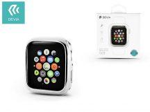 Apple Watch 4 védőtok - Devia Dazzle Gold-Plated Series 44 mm - ezüst