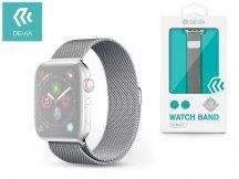 Apple Watch fém szíj - Devia Elegant Series Milanese Loop - 42/44 mm - silver