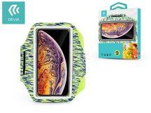 """Univerzális kartok sportoláshoz, max. 4,7-6,5"""", méretű készülékekhez - Devia Easy Go Universal Armband - green"""