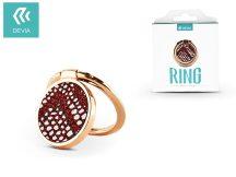 Devia ring holder/szelfi gyűrű és kitámasztó - Devia Finger Hold Diamonds-2 - red