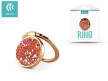 Devia ring holder/szelfi gyűrű és kitámasztó - Devia Finger Hold Diamonds - pink