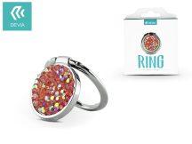 Devia ring holder/szelfi gyűrű és kitámasztó - Devia Finger Hold Diamonds - silver
